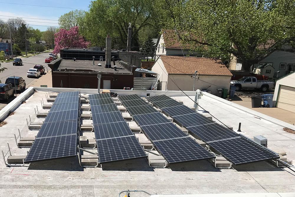 Convenience store solar array All Energy Solar