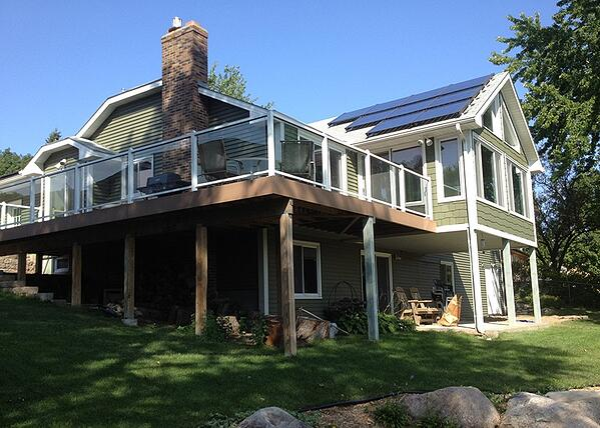 Residential Roof Solar Installation