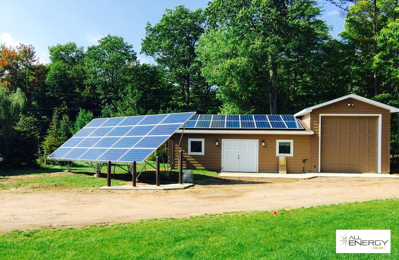 Lac Courte Orielles Wisconsin solar power installation - All Energy Solar