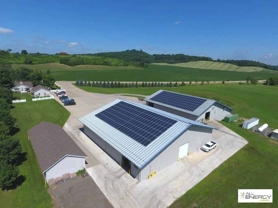Menomonie solar power Wisconsin - Classic Protective Coating - All Energy Solar