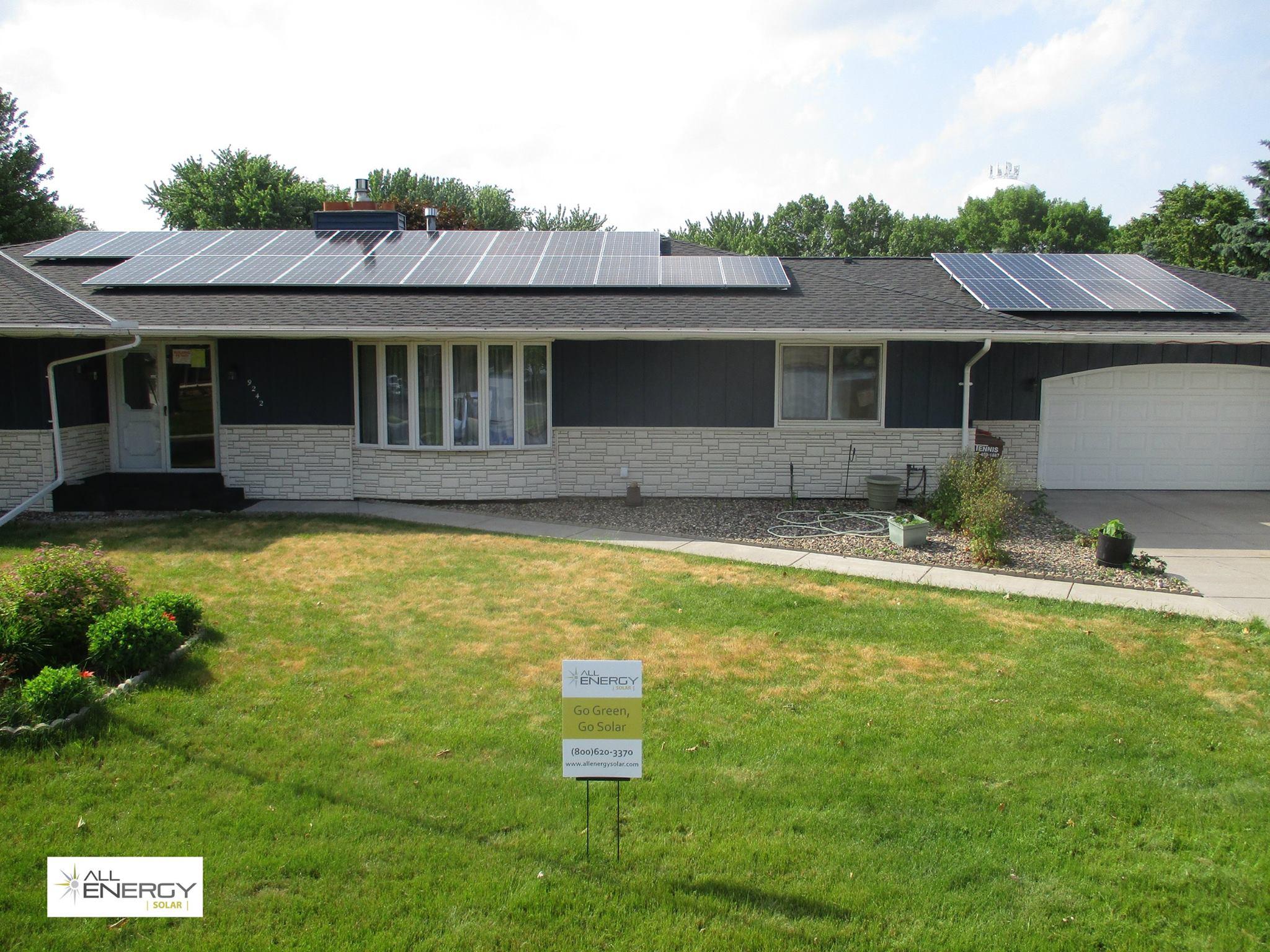 Wisconsin solar panel installation