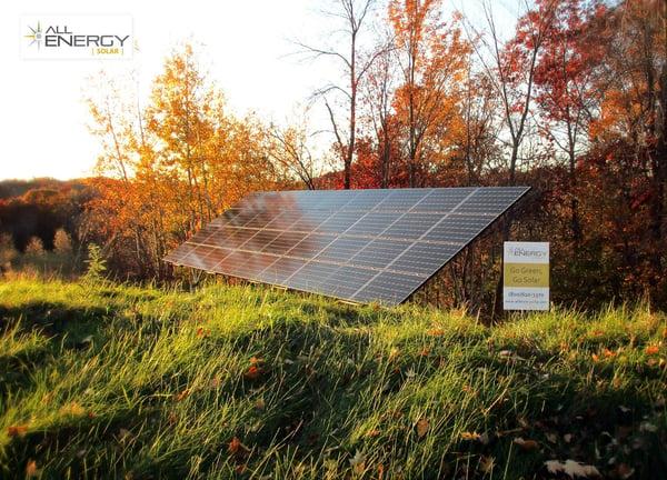stand alone solar power array - All Energy Solar