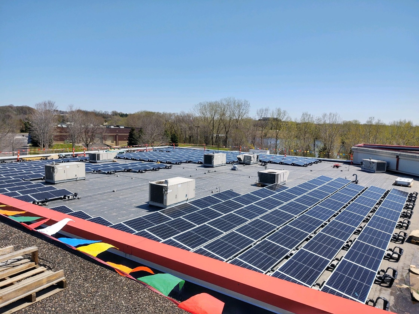 Eagan-based Smart Data Solutions' 440 solar panels produce enough energy to power 59% of its 29,000-square-foot building.  The project went live this month.